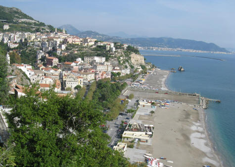 Beaches near Salerno