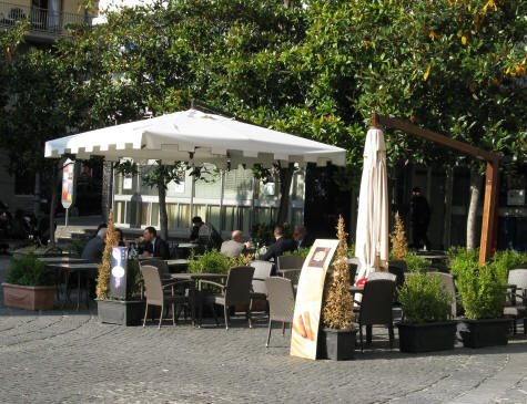 Restaurants And Cafes In Salerno Italy