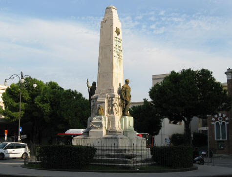 War Monument in Salerno Italy